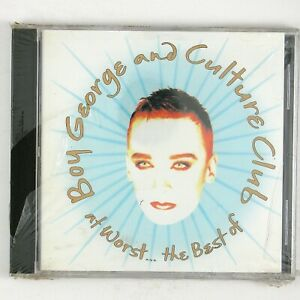 BOY GEORGE AND CULTURE CLUB At Worst...The Best Of CD 1993 ALT/INDIE (SEALED)