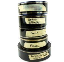 Five Pack 1996 1997 Vintage 35mm Movie Trailers Mystery Trailer Projector Floor