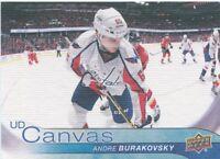 16/17 UPPER DECK UD CANVAS #C205 ANDRE BURAKOVSKY CAPITALS *50340