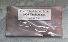 1996 United States US Mint Uncirculated Coin Set