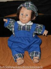 "GI-GO ""FUNNY-LOOKING BOY DOLL"" W/BLUE OUTFIT, 7 1/2"" BEANIE, WHAT A FACE!"