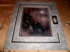 MIKE LAFLEUR:  Signed Original Matted artwork of Bald Eagle + Arrowhead-#42/300