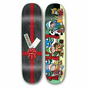 Strangelove Elves Deck 8.25 Sean Cliver Holiday Skateboard *In Hand*