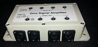 8 way DMX splitter amplifier + power supply UK stock