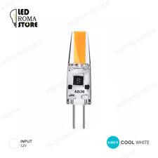 LAMPADINA LED 2W AC DC 12V G4 COB IN SILICONE LUCE COOL FREDDA 6000K 6500K