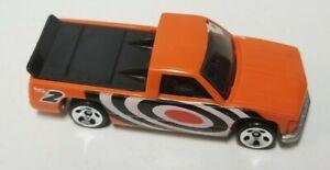 Hot Wheels 1996 Chevy 1500 Orange Loose Car India Base