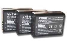 3x Batterie pour Canon EOS 1100 / 1200D LP-E10 LPE10 LP-E 10 ACCU