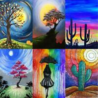 5D DIY Full Drill Diamond Painting Cross Stitch Mosaic Craft Kits Bedroom  Decor