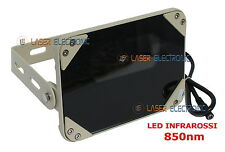 FARETTO ILLUMINATORE A LED INFRAROSSI SE8-45-C-IR 12VDC VISIONE NOTTURNA 80MT