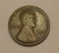 1912 Lincoln Wheat Cent in Average Circulated Condition      DUTCH AUCTION