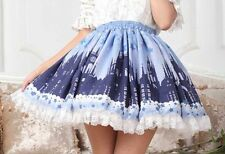 Cosplay Gothic Lolita Fantasy Secret Castle Fairy Tale Princess Skirt with lace
