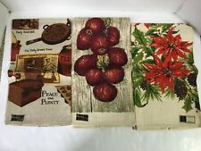New listing Lot Of 3 Linen Kitchen Towels Kay Dee And Stevens Linen