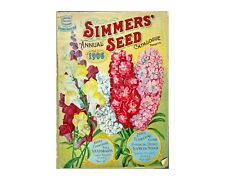 "Seed Pack Catalog Covers, Two 5"" x 7"" Prints, Antique Kitchen & Garden Wall Art"