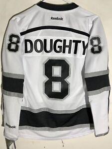 Reebok Women's Premier NHL Jersey Los Angeles Kings Doughty White sz M