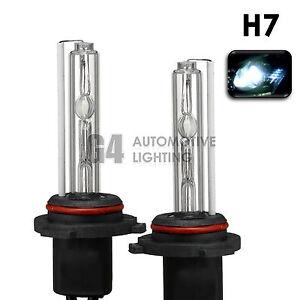 2X NEW HID XENON H7 Headlight/Fog Light HID Bulbs 12V AC 35W 6000K Crystal White