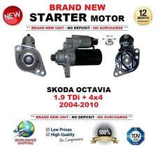 FOR SKODA OCTAVIA 1.9 TDi + 4x4 2004-2010 STARTER MOTOR BRAND NEW 2.0kW 11-Teeth