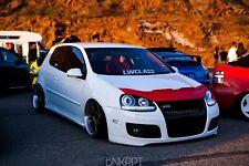 Car Bonnet Hood Bra in RED Fits VW Volkswagen Golf 5 MK5 Rabbit GTI 06 07 08 09