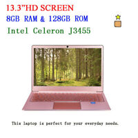 Top Quality 13.3 Inch Laptop Notebook Intel Celeron J3455 8GB RAM  WIn10