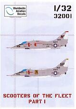 Flevo Aviation Decals 1/32 SCOOTERS OF THE FLEET DOUGLAS A-4 SKYHAWK Part 1