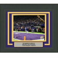 Framed STEFON DIGGS Minnesota Vikings Miracle 8x10 Photo Professionally Matted 6