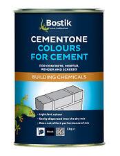 Bostik Cement Dye PICK YOUR COLOUR | Mortar Tone 1KG Cement Colour | Cementone