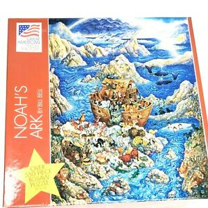 Noah's Ark Jigsaw Puzzle 550 Pcs Bill Bell 18x24 Inches Great American Factory