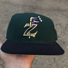 Vintage New Orleans Zephyrs Hat New Era Pro Model Fitted Wool Minor League USA