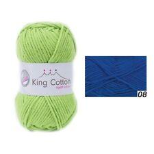 Gründl King cotone 50 G colore 08 Royal Blue