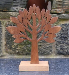 Wooden Tree Of Life Sculpture from Sustainable Timber