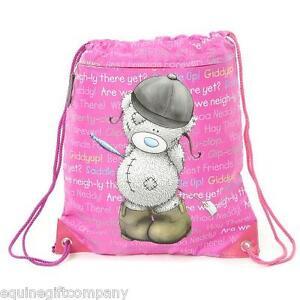 Carrots Tatty Teddy Me To You Berry Drawstring Bag - Horse Rider Bag PE Kit