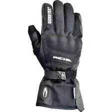 Gants noirs Richa pré-courbé pour motocyclette