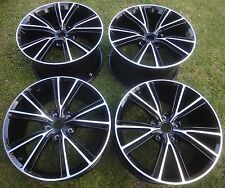 "BC Set of 4 Refurbished 20"" GENUINE Aston Martin Vanquish forged alloy wheels"