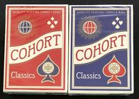 Bicycle Ellusionist Cohort Classic Combo Red & Blue US Playing Cards Magic Poker