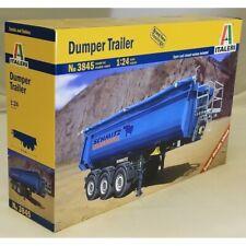 Italeri 1:24 3845 Dumper Trailer Model Truck Kit