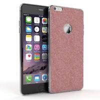 Schutz Hülle für Apple iPhone 6 / 6S Plus Glitzer Cover Handy Case Rosa