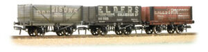 FARISH 377-097 Coal Trader Triple Pack 7 Plank Pvte. Owner Wagons Weathered