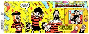 2021 GB Dennis & Gnasher Mini Sheet Barcoded 01/07/21 +FREE CARRIER