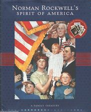 NORMAN ROCKWELL'S SPIRIT OF AMERICA New BOOK Art SONGS Artist HISTORY Rockwell
