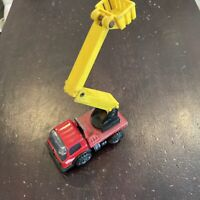 Vintage TONKA MINI BUCKET / UTILITY TRUCK RED Working