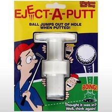 TRICK EJECT A PUTT POP OUT GOLF BALL GAG funny golfing novelty prank joke gag