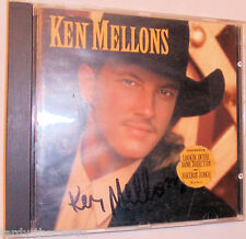 Ken Mellons by Ken Mellons Autographed on Cover NO CD INCLUDED