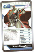 Star Wars - Top Trumps - The Clone Wars - DROIDE MAGNA GARDE