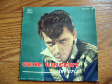 GENE VINCENT  In Paris French Ep with Picture Sleeve