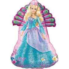 "BARBIE BALLOON 31"" BARBIE PARTY SUPPLIES ISLAND PRINCESS ANAGRAM BALLOON"