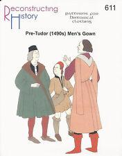 Schnittmuster RH 611: Pre-Tudor Men's Gown