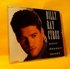 MAXI Single CD Billy Ray Cyrus Achy Breaky Heart 3TR 1992 Country Pop Rock