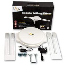 Refurbished 130 mile LAVA Omni Pro HD-8008 TV Antenna - UHF/VHF/FM/SDTV/HDTV/4K