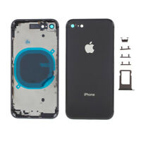 Chasis Tapa Bateria Iphone 8 Negro Gris Espacial Carcasa + botones + portaSIM