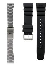 OEM 22 mm Orient Pro-Saturation Diver Bracelet / Rubber Strap Combo