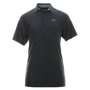 New UNDER ARMOUR heatgear Loose Fit Playoff Polo Golf SHIRT Men sizes heathered
